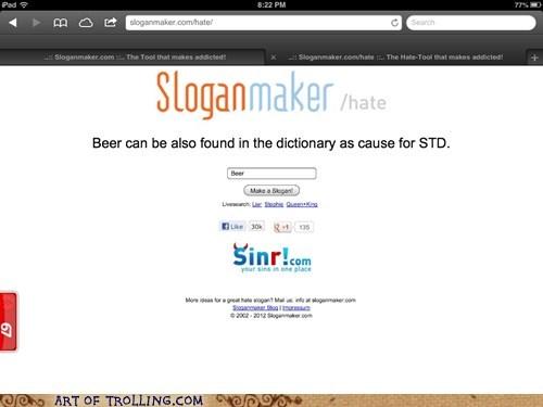 beer,sloganmaker