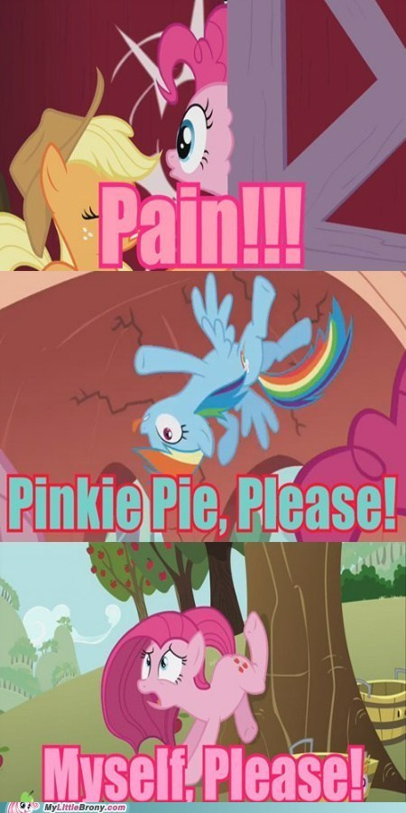 painie pie pain pinkie pie rainbow dash - 7110799104