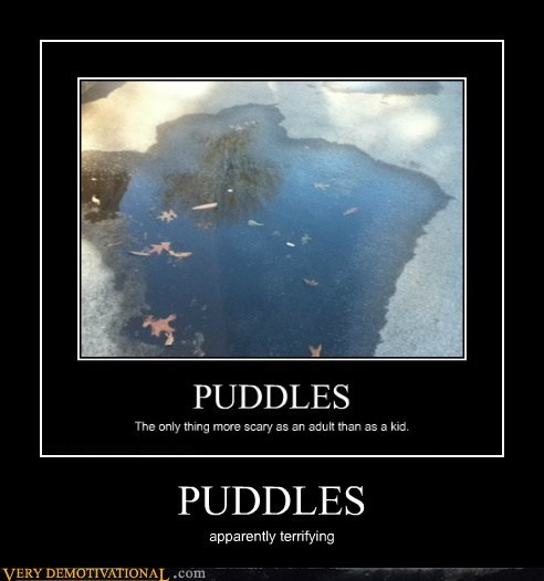 scary,adult,puddles