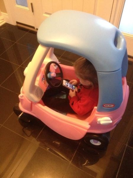 little tikes texting and driving texting