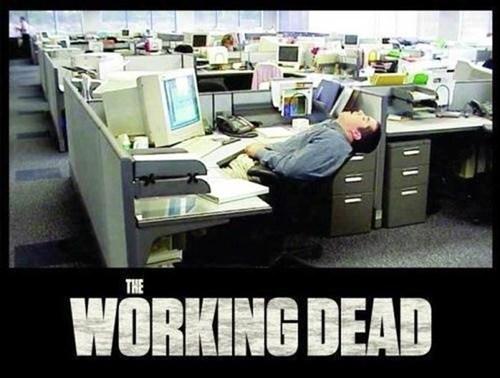 zombie work The Walking Dead - 7111131904
