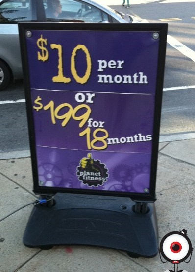 what a deal gym Planet Fitness math