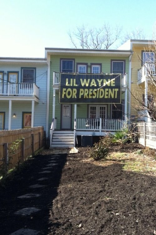 how about no,president,lil wayne