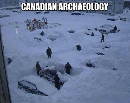 Canada,snow,archaeology