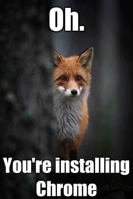 fox cute firefox chrome - 7111266048