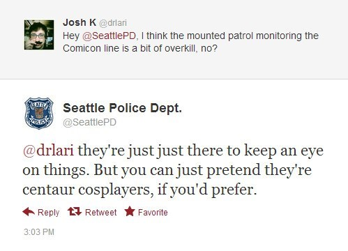 twitter,seattle,comicon,police