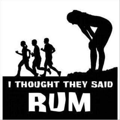 run misunderstandings Rum after 12