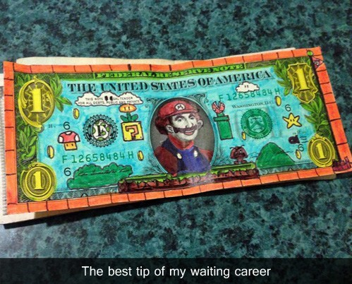 tip nerdgasm hacked irl Super Mario bros nintendo - 7111385600
