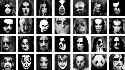 panda black metal heavy metal - 7111446272