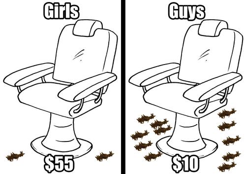 haircuts men vs women - 7111492608