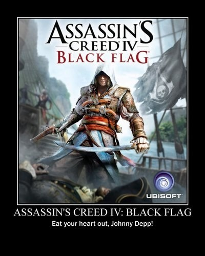 pirates assassins creed Johnny Depp - 7111507456
