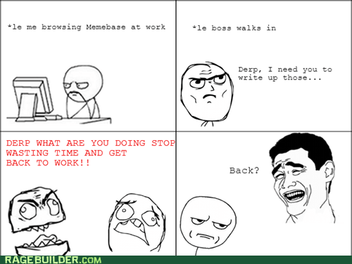 boss,trolling,work,back to work,slacking off