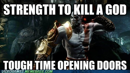 doors,god of war,quick time events,kratos