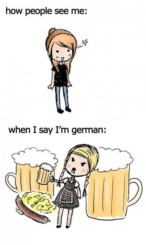 beer germans stereotypes oktoberfest