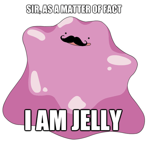 jelly,sir,mustaches,ditto
