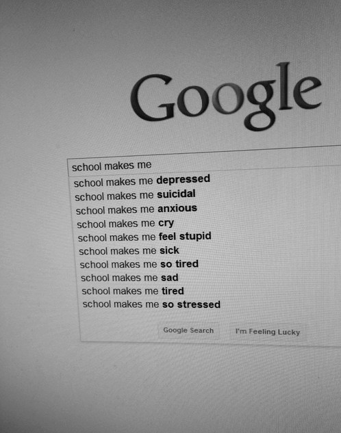 depressing school google - 7111711232