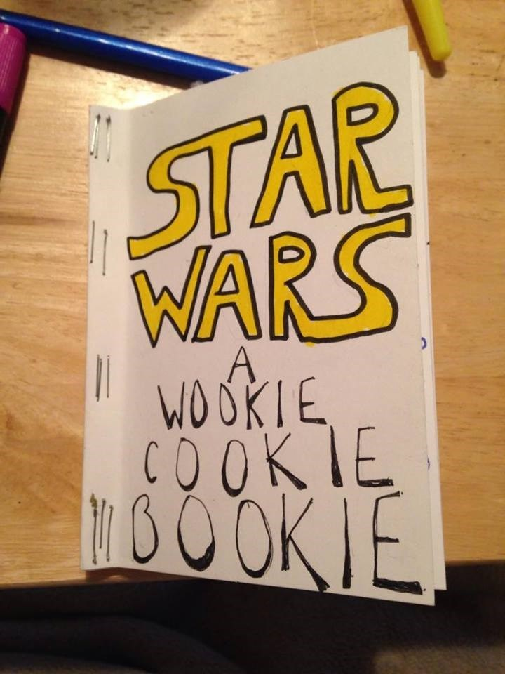 star wars themed cook book