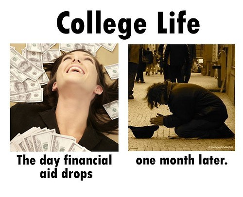 poor finances money college g rated School of FAIL