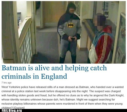 news superheroes batman Probably bad News - 7111749120