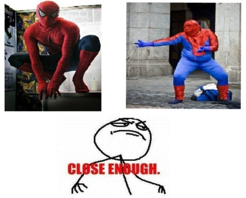 cosplay Close Enough Spider-Man - 7111810048