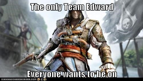 The only Team Edward  Everyone wants to be on