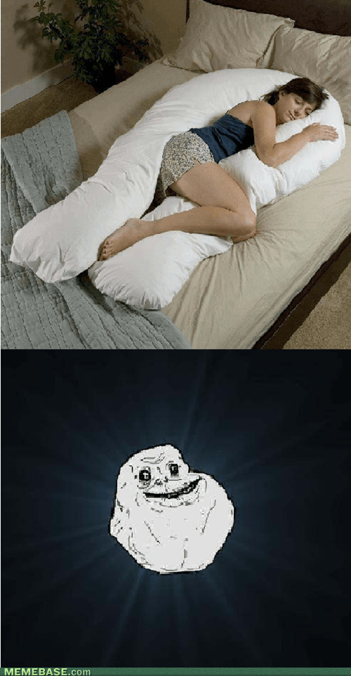 forever alone pillows