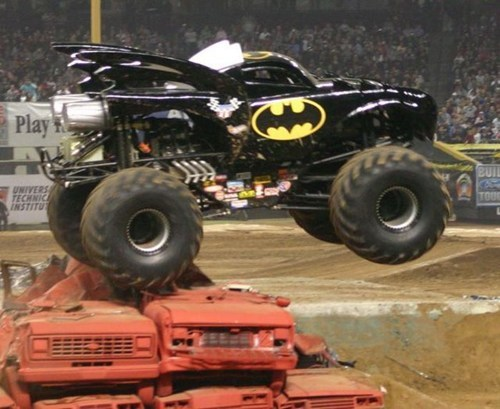 monster truck,superheroes,batman