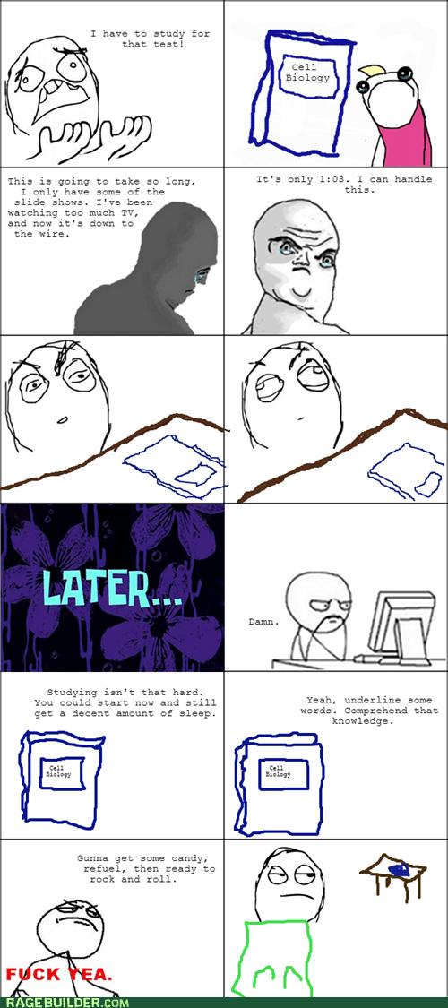 Stay Up Late, Procrastinate.