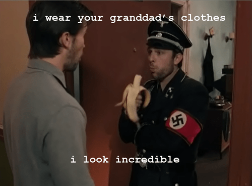 nazis thrift shop bananas Macklemore - 7113593856