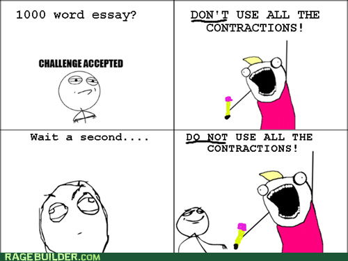 Challenge Accepted,all the things,essays
