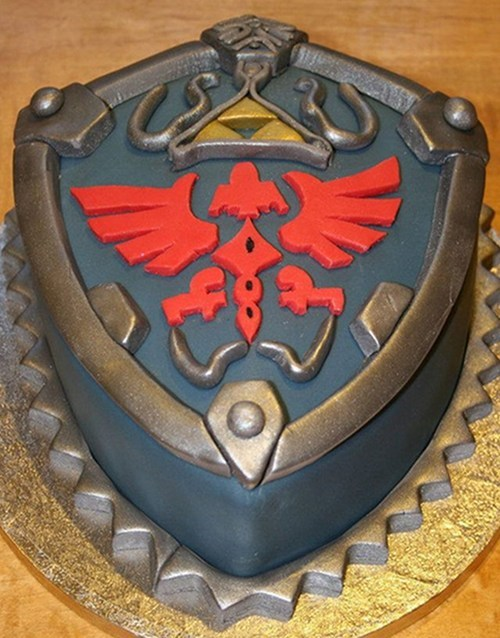 cake the legend of zelda nerdgasm dessert video games g rated win