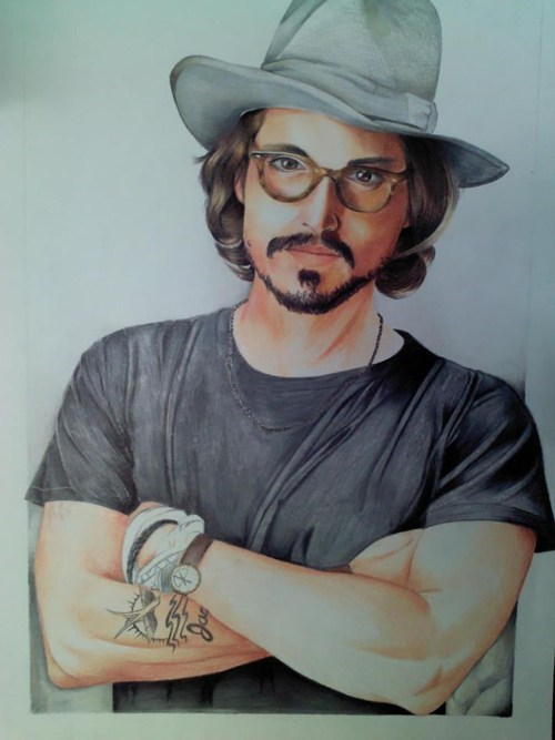 Fan Art,Johnny Depp,celeb