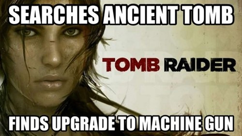 Tomb Raider video game logic - 7114183424