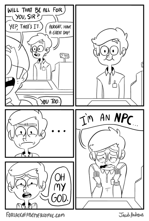 work comics realization NPCs - 7114219264