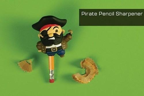sharpeners,pencils,pirates