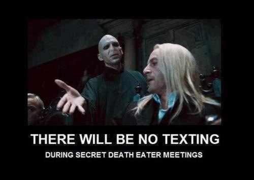 busteed Harry Potter voldemort deatheaters no texting - 7114251264