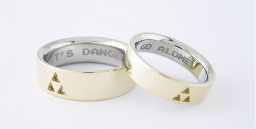 rings triforce zelda - 7114267904