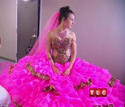 Gypsy wedding tlc blinding dress - 7114307584
