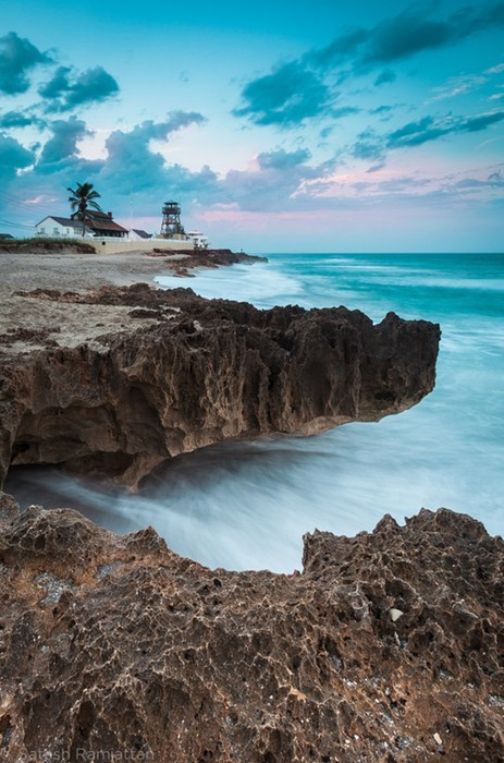 lighthouse,beach,landscape,coast