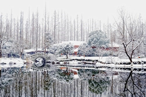 China landscape winter lake - 7114413568