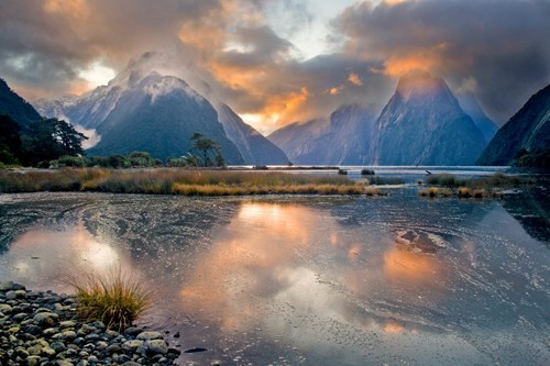reflection,landscape,mountains,lake