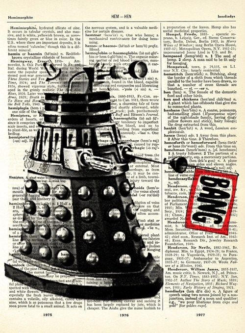 daleks dictionarys doctor who - 7114456320