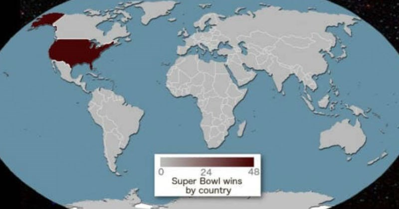 cover image of the world map and Superbowl wins
