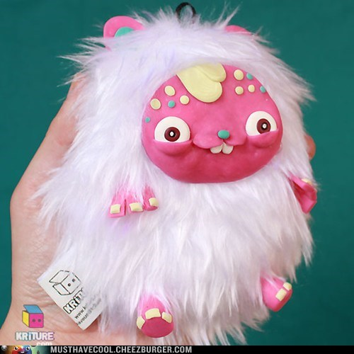 toy yeti Plush clay - 7114582784
