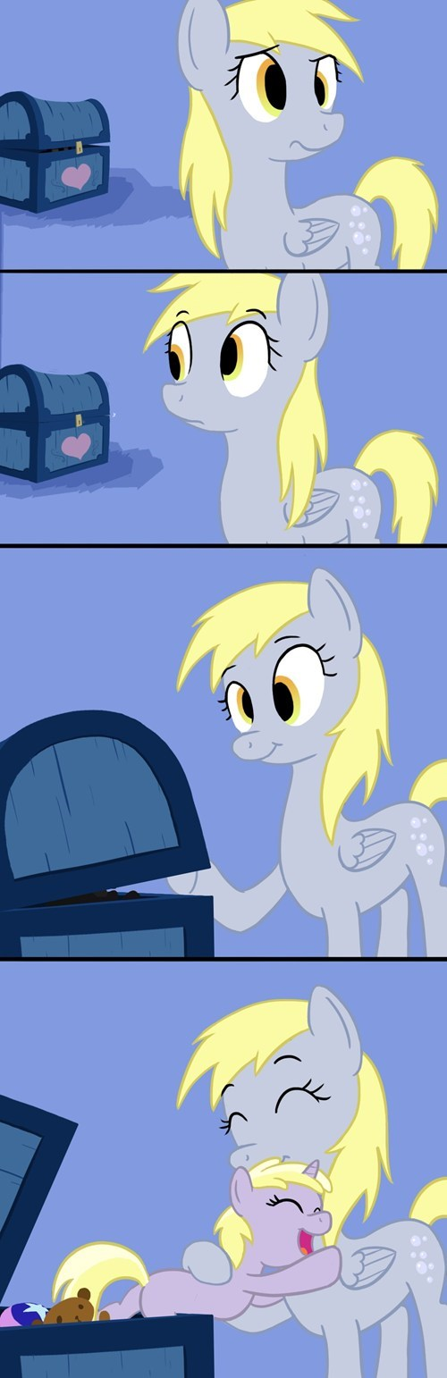 dinky hooves derpy hooves comics cute - 7114684928