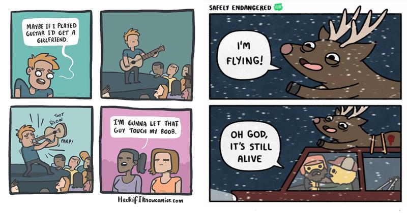 Funny comics.