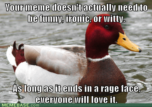 rage faces,malicious advice mallard