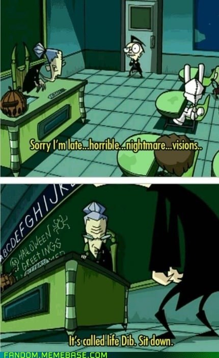 life Invader Zim cartoons - 7115139328