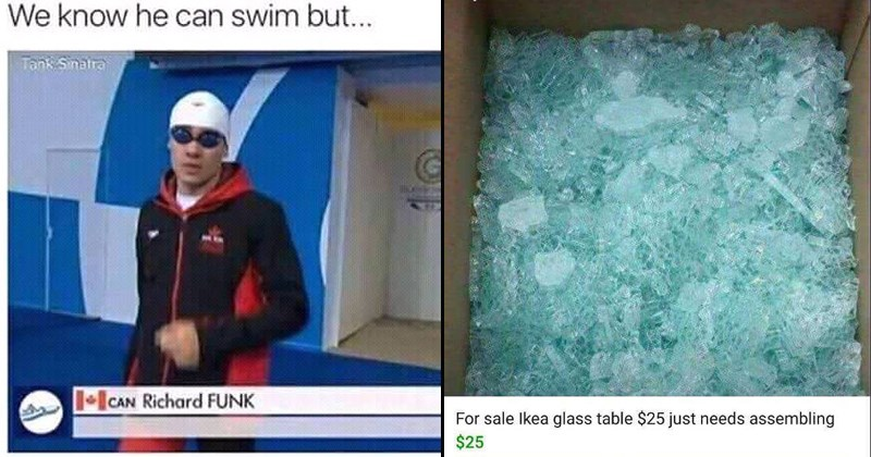 funny memes, silly memes, swimmer who can funk