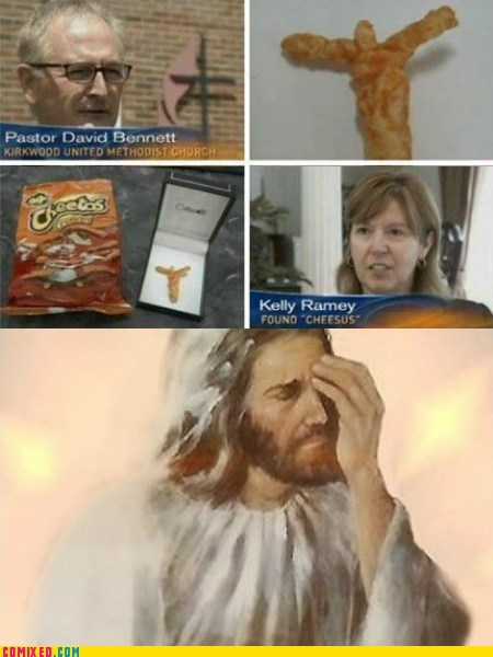 jesus wtf cheese face palm cheetos - 7115697920